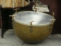 Drum. Ancient drum royalty free stock photography