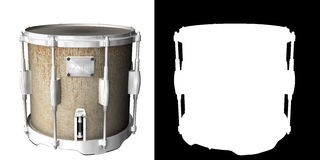 Drum. A simple concert drum Royalty Free Stock Photography