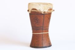 Drum from Africa royalty free stock photos