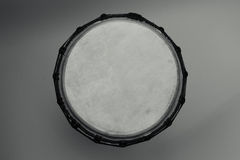 Drum african. Drum for a game hands on a white background which percussion lie on Royalty Free Stock Images