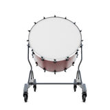 Drum bass close-up. Isolated on white background. 3d illustration Royalty Free Stock Images