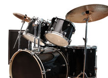 Drum and bass set Royalty Free Stock Images