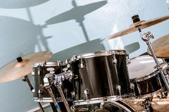 Drum and bass set Stock Photography