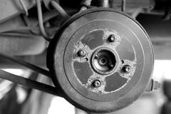 Drum brakes Royalty Free Stock Photos