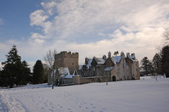 Free Drum Castle In The Snow Stock Photo - 8086520
