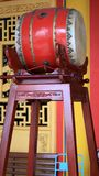 Drum at Chinese Temple. Magelang, Indonesia - December 23, 2017: Drum at Chinese Temple Liong Hok Bio in Magelang, Central Java royalty free stock photo