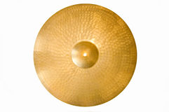 Drum conceptual image. Picture of cymbal Stock Image