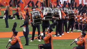 Drum Corps, Marching Band stock footage