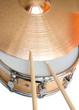 Drum and cymbal Stock Image