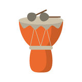 Drum djembe percussion african Royalty Free Stock Images