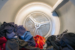 Drum of a dometstic Tumble Drier Royalty Free Stock Photography