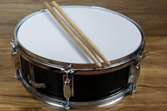 Drum and drumsticks Stock Photos