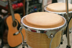 Drum and guitar Stock Images