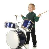 Drum Happy Royalty Free Stock Photo