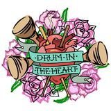 `Drum in the Heart` Royalty Free Stock Photos