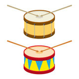 Drum. Icon. Flat design, vector illustration, vector vector illustration