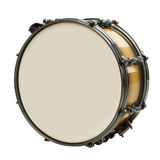 Drum isolated on white Royalty Free Stock Images