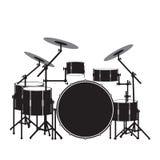 Drum_kit Photographie stock libre de droits