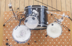 Drum Kit From Above Royalty Free Stock Photo
