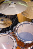 Drum kit full frame Royalty Free Stock Photo