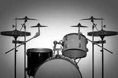 Free Drum Kit. Retro Drums. Stock Photos - 75846543