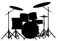 Drum Kit Royalty Free Stock Images