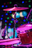 Drum Kit on the stage Royalty Free Stock Image