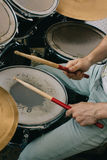 Drum kit. Royalty Free Stock Photography