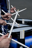Drum Line Royalty Free Stock Photos