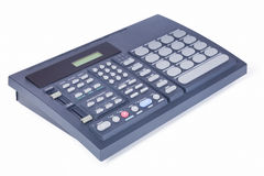 Drum machine angle view Stock Images