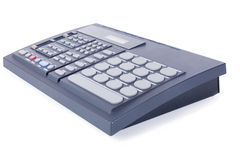 Drum machine side view Royalty Free Stock Image