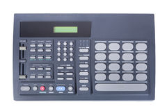 Drum machine top view Stock Photos