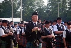 Drum Major Massed Bands Royalty Free Stock Image