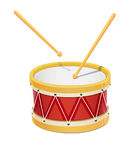 Drum. Music instrument Royalty Free Stock Images