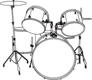 Drum_music_sound_full_vector Stock Photo