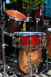 Drum in Outdoor Concert Royalty Free Stock Images