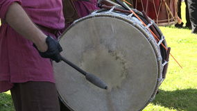 Drum. Percussion instrument. 4K. stock footage