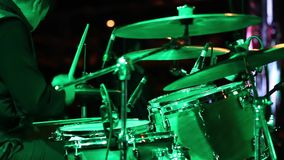 Drum Performance. Royalty Free Stock Images