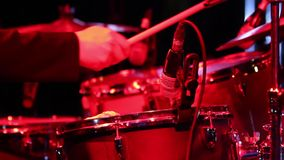 Drum Performance. Royalty Free Stock Photos