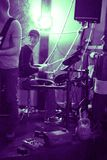 Drum player Royalty Free Stock Photos