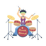 drum player. Stock Photos