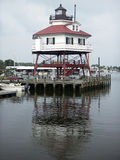 Drum Point Lighthouse Royalty Free Stock Photo