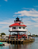 Drum Point Lighthouse stock image