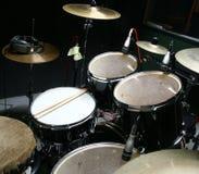 Drum recording Royalty Free Stock Image