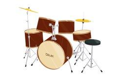 Drum set  Stock Images