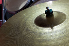 Drum set. Closeup  of mallets Stock Photography