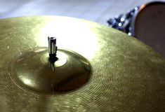 Drum set. Closeup  of mallets Royalty Free Stock Photo
