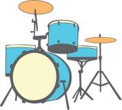 Drum Set Royalty Free Stock Image
