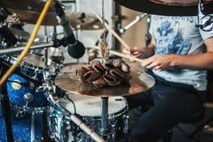 Drum set Royalty Free Stock Photo