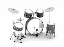 Drum set Stock Photo